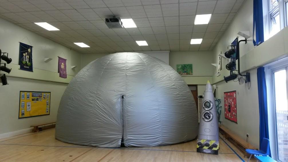mobile space dome