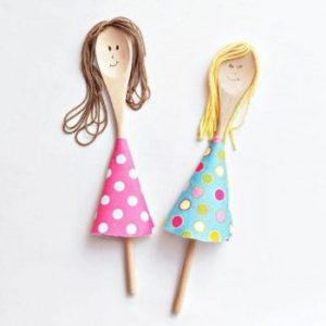 spoon people - kids craft
